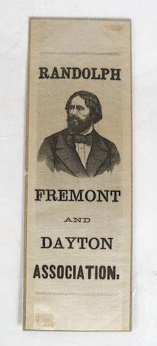 Randolph Fremont Ribbon