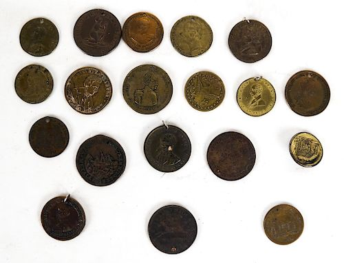 Collector Tokens, Approximately Twenty