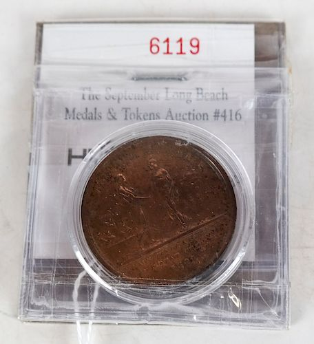 1807 Slave Trade Abolished Medal