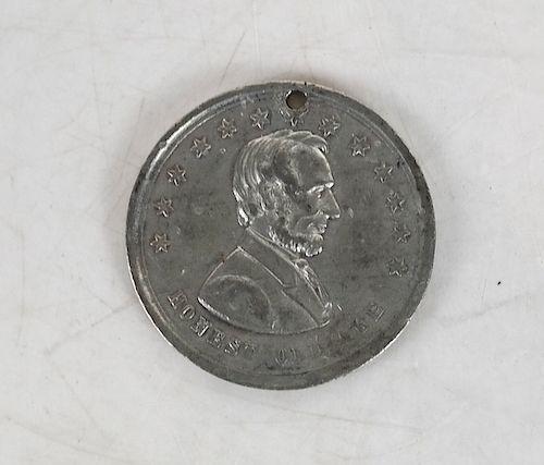 Abraham Lincoln Medalet 1864