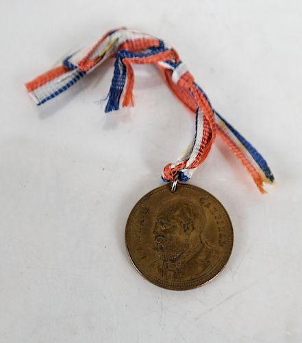 James A. Garfield Medalet 1881