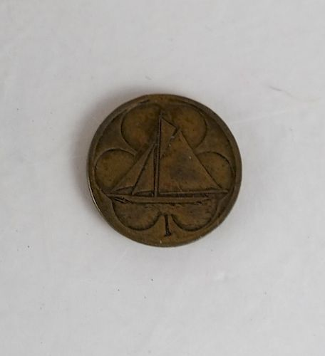 1903 One Cent, America Cup Coin