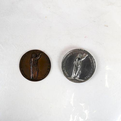 Anti-Slavery Church Missionary Society Medals