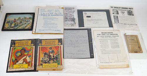 African-American Collection Memorabilia, Assorted