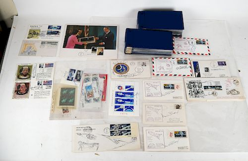 U.S.A. Space - First Day & Commemorative Covers