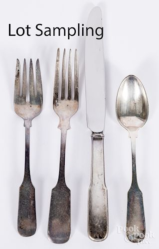 Gorham sterling silver flatware service