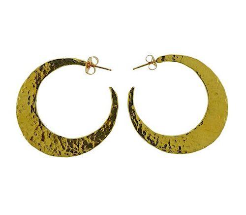 Ippolita 18K Gold Hoop Earrings