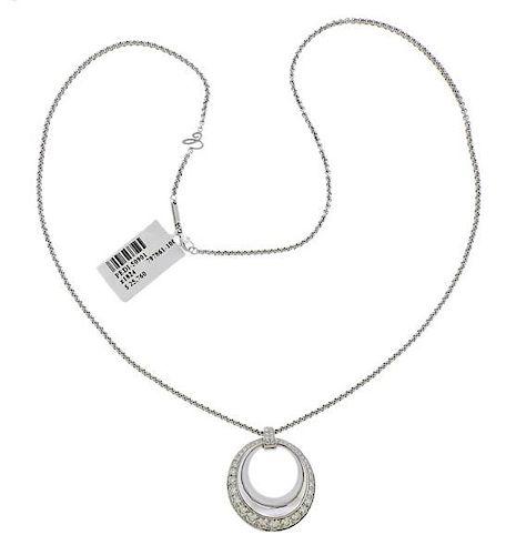 Chopard Imperiale 18k Gold  Diamond Pendant Necklace