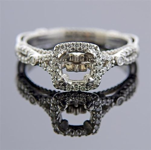 Verragio 14k Gold Diamond Engagement Ring Setting