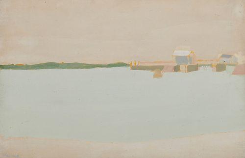 ALEX KATZ, (American, b. 1927), Lincolnville Beach, 1959