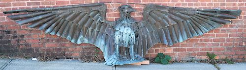 George MATHISEN (Czech): Palatial Eagle Sculpture