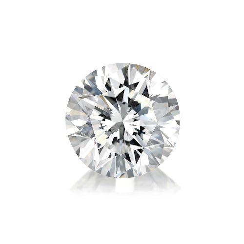 5.03-Carat Loose Round Brilliant-Cut Diamond, F/VS2