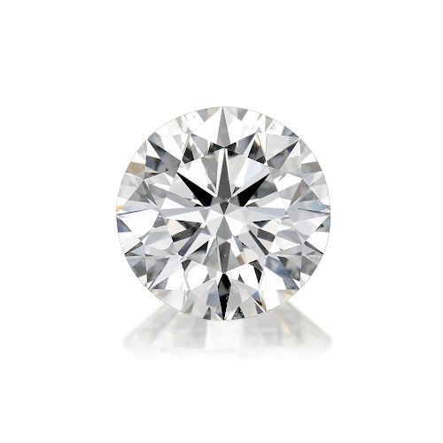 5.90-Carat Loose Round Brilliant-Cut Diamond, F/SI1