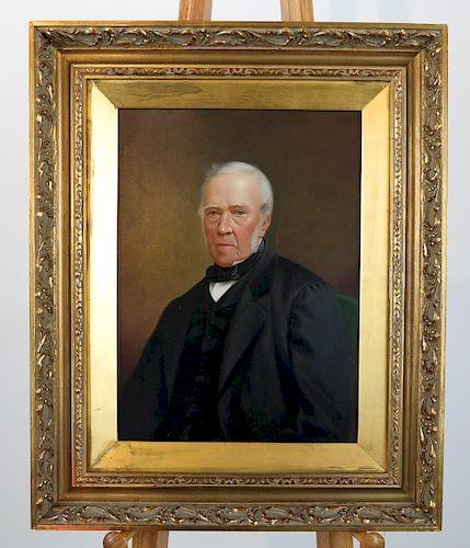 Portrait of a Gentleman - Oil on Panel