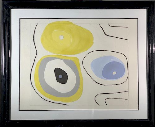 20thc, School, Abstraction, Artist Unidentified