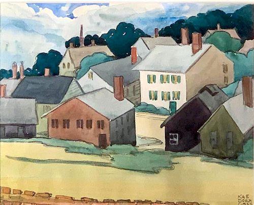 Kae Dorn Cass (American, Cleveland School 1901-1971)