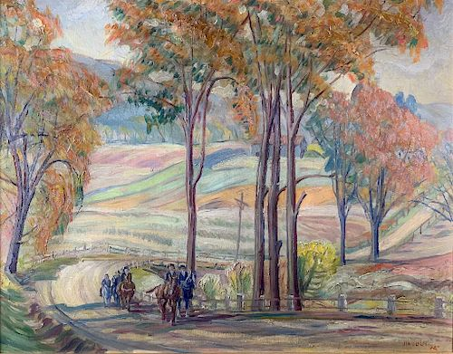 Frank Luis Jirouch (American,Cleveland School,