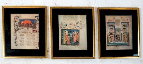 Three Judaic Prints, Jerusalem