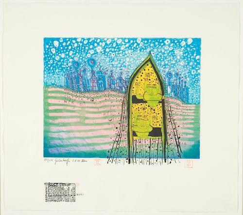 Hundertwasser, Friedensreich ,   Austrian 1928-2000
