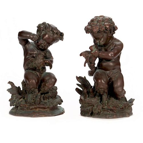 19th century bronze figures