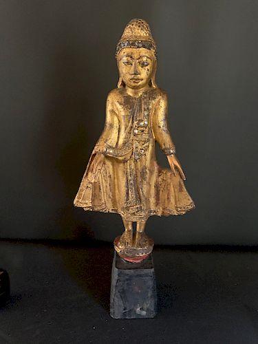 Mandalay Period Standing Buddha