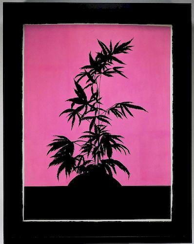 Ryan Sullivan Modern Marijuana Painting