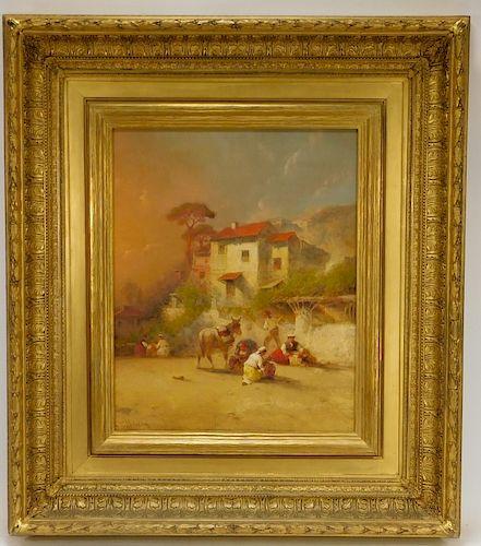 George Washington Nicholson Italian Home Painting