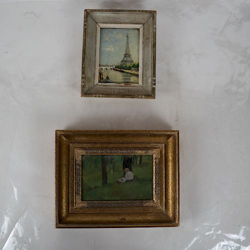 Andre-Marie D'ARCY: Eiffel Tower - W/C, Another