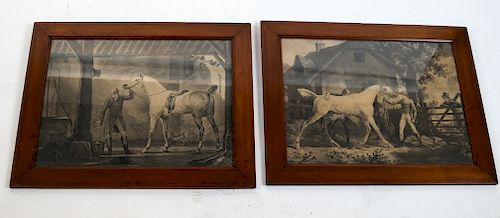 Two Horse & Figures Prints