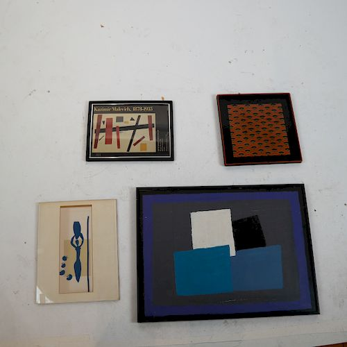 Four Decorative and Art Items