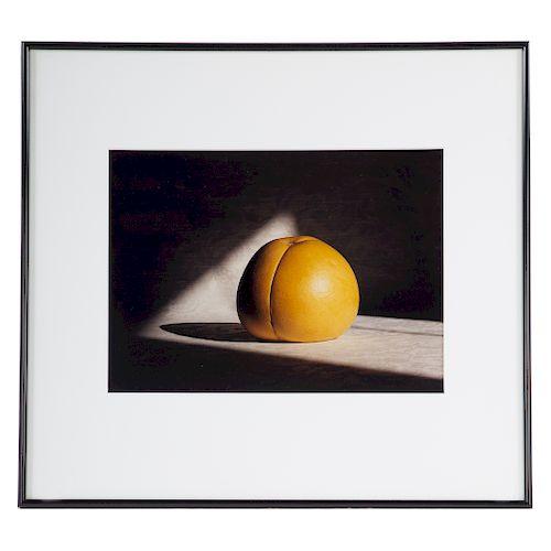 Attb. Norman Carlberg. Orange Still Life