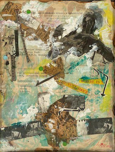 Carolee Schneemann - Untitled (Where Is The Full Shock)