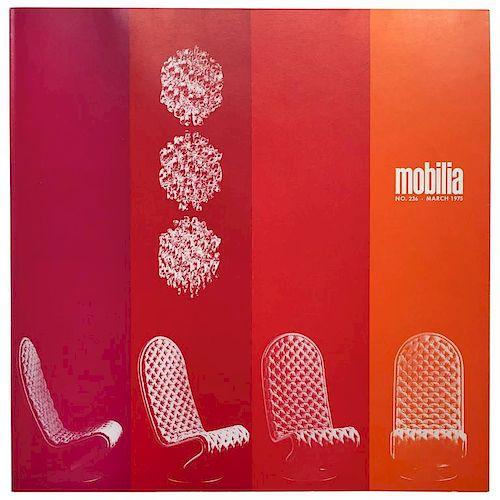 Verner Panton - Mobilia No.236, March 1975