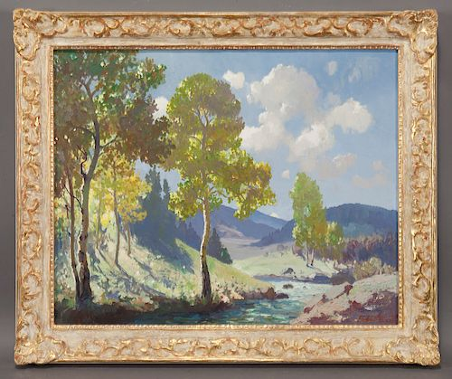 """Fremont Ellis """"Early Summer on the Cumbres"""""""