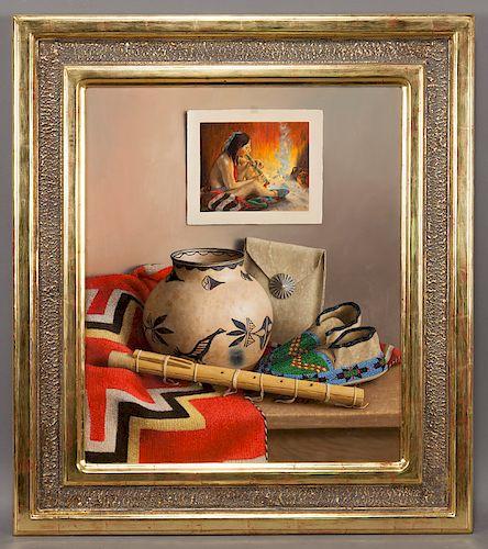 "William Acheff ""Harmony"" oil on canvas, 2011."