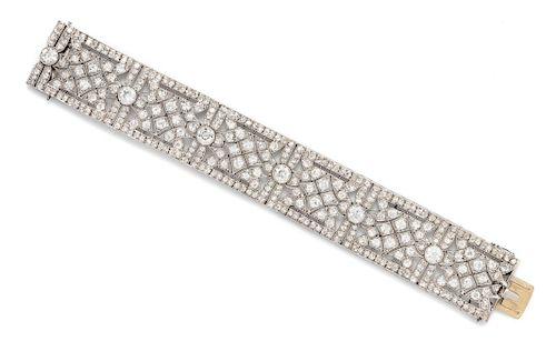 Art Deco, Diamond Bracelet