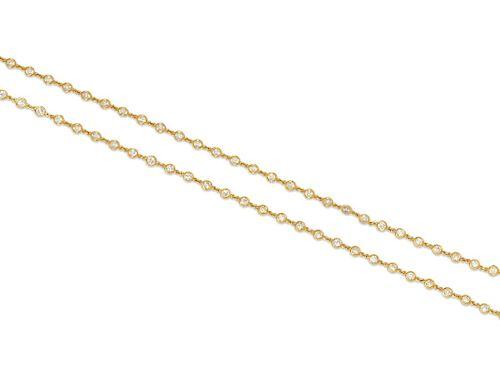 Diamond Longchain Necklace
