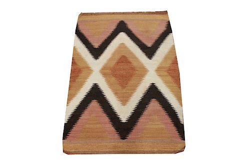 "Native American Hand Woven Rug 2' 8"" x 6' 3"""