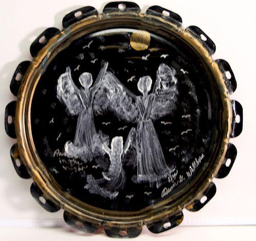 Outsider Art, Annie Wellborn, Angels in the Night