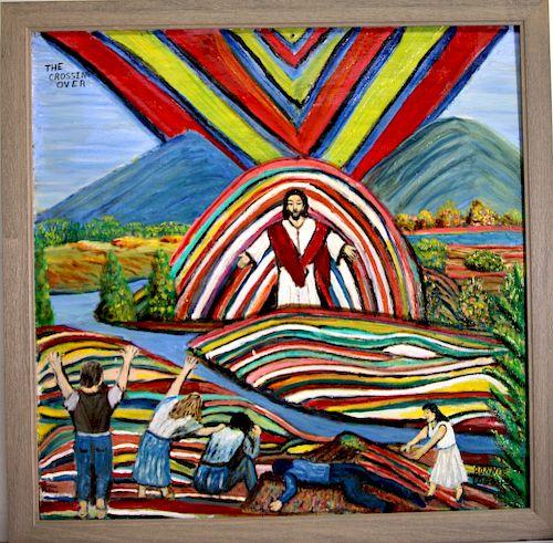Outsider Art, Bonnie Loggins, Untitled
