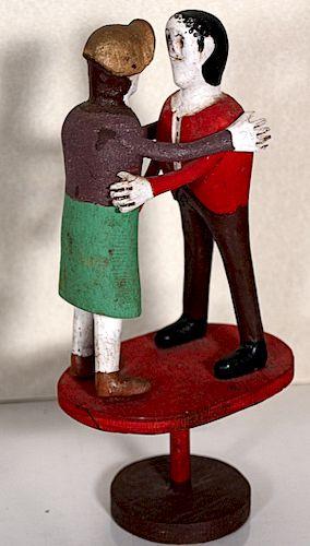Outsider Art,Carlton Garret- Couple Dancing