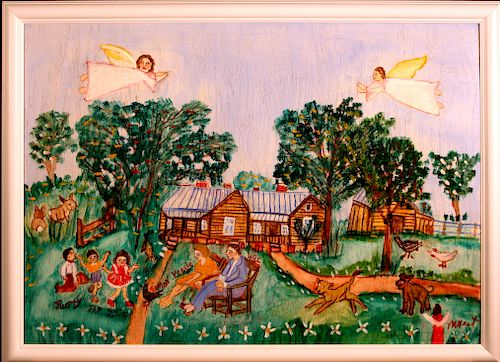 Outsider Art, Myrtice West, Untitled