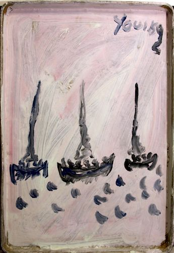 Outsider Art, Purvis Young, Boat People