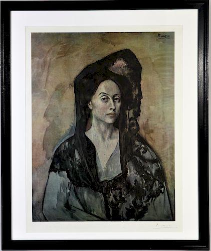 """Pablo Picasso """"Madame Ricardo Canales"""""""