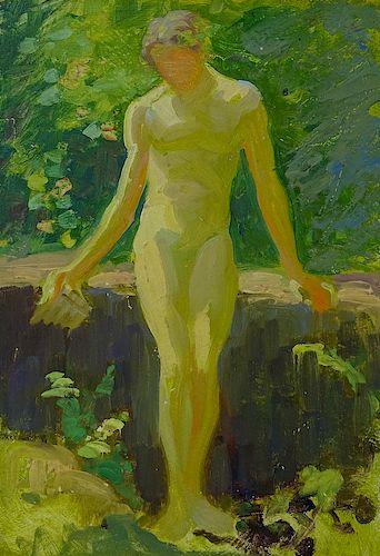 Attributed Henry Scott Tuke (BRITISH, 1858–1929)