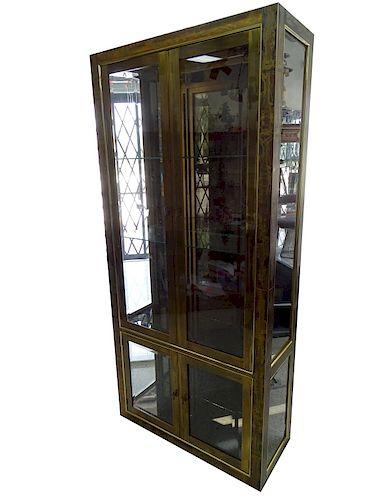 Bernhard Rohne Etched Display Cabinet
