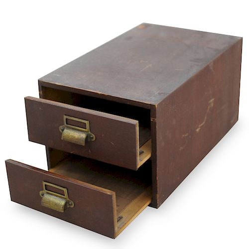 Yawman and Erbe Filing Cabinet
