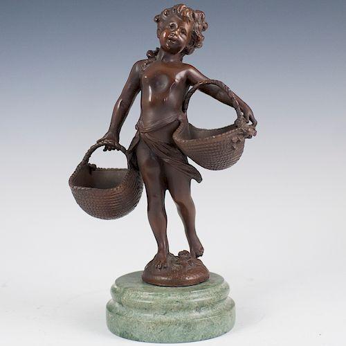 After Suzanne Bizard (French 1873-1963) Bronze
