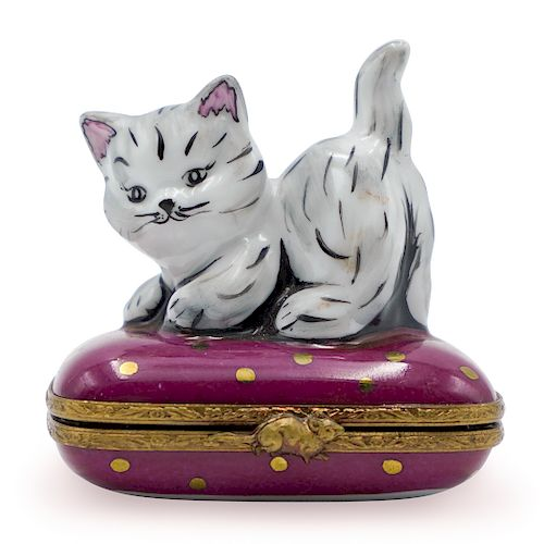 Limoges Limited Edition Porcelain Trinket Box