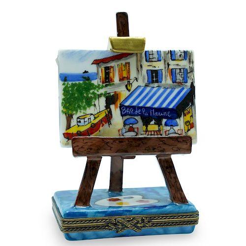 Limoges Limited Edition Porcelain Trinket Box